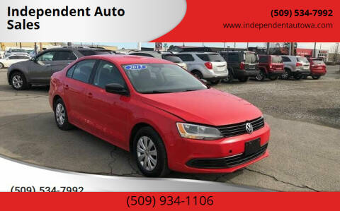2013 Volkswagen Jetta for sale at Independent Auto Sales #2 in Spokane WA