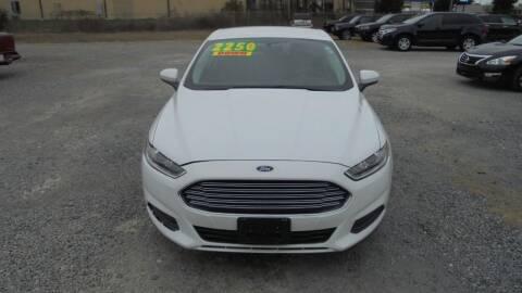 2014 Ford Fusion for sale at Auto Mart - Moncks Corner in Moncks Corner SC