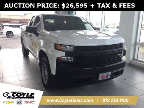 2019 Chevrolet Silverado 1500 for sale at COYLE GM - COYLE NISSAN in Clarksville IN