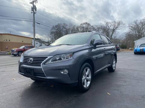 2013 Lexus RX 350 for sale at SOUTH SHORE AUTO GALLERY, INC. in Abington MA