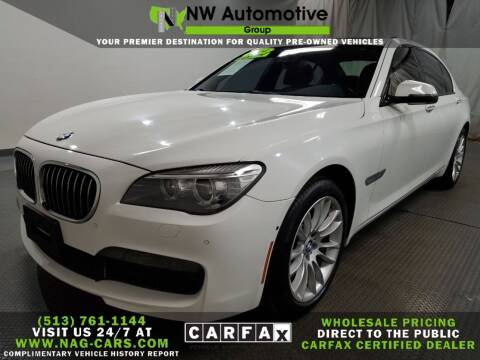 2014 BMW 7 Series for sale at NW Automotive Group in Cincinnati OH