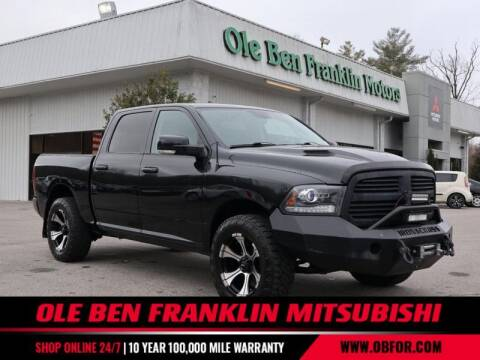 2017 RAM Ram Pickup 1500 for sale at Ole Ben Franklin Mitsbishi in Oak Ridge TN