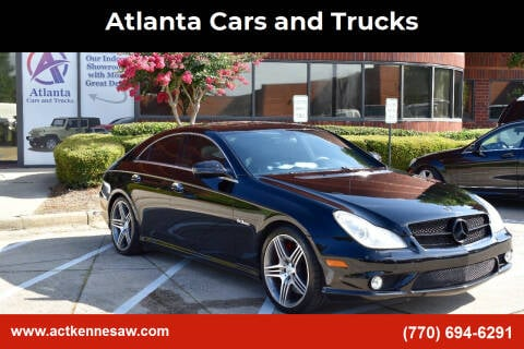 2009 Mercedes-Benz CLS for sale at Atlanta Cars and Trucks in Kennesaw GA