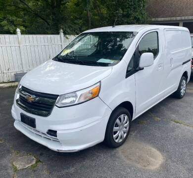 2015 Chevrolet City Express Cargo for sale at BORGES AUTO CENTER, INC. in Taunton MA