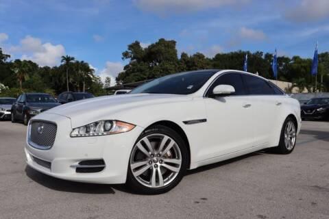 2011 Jaguar XJL for sale at OCEAN AUTO SALES in Miami FL