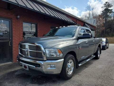 2012 RAM Ram Pickup 3500 for sale at One Source Automotive Solutions in Braselton GA