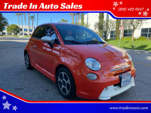 2013 FIAT 500e for sale at Trade In Auto Sales in Van Nuys CA