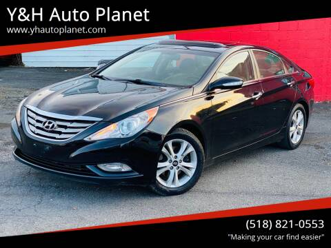 2011 Hyundai Sonata for sale at Y&H Auto Planet in West Sand Lake NY