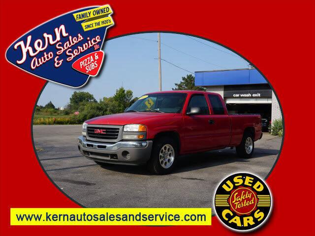 2007 GMC Sierra 1500 Classic for sale at Kern Auto Sales & Service LLC in Chelsea MI