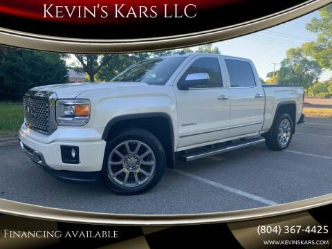 2014 GMC Sierra 1500 for sale at Kevin's Kars LLC in Richmond VA