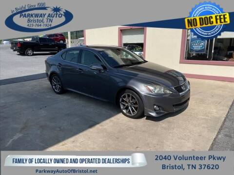 2013 Lexus IS 250 for sale at PARKWAY AUTO SALES OF BRISTOL in Bristol TN