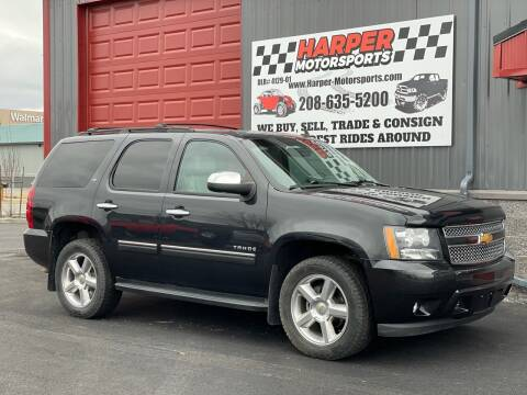 2012 Chevrolet Tahoe for sale at Harper Motorsports-Powersports in Post Falls ID