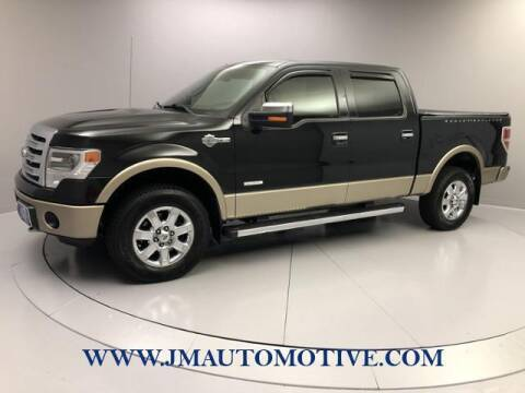 2013 Ford F-150 for sale at J & M Automotive in Naugatuck CT