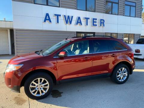 2014 Ford Edge for sale at Atwater Ford Inc in Atwater MN