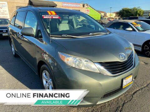 2013 Toyota Sienna for sale at Super Cars Sales Inc #1 in Oakdale CA