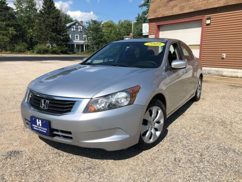 2009 Honda Accord for sale at Hornes Auto Sales LLC in Epping NH