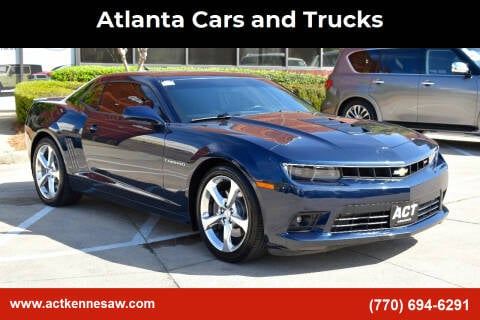 2015 Chevrolet Camaro for sale at Atlanta Cars and Trucks in Kennesaw GA