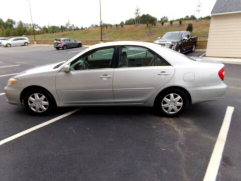 2002 Toyota Camry for sale at West End Auto Sales LLC in Richmond VA