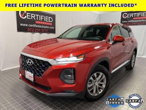 2020 Hyundai Santa Fe for sale at CERTIFIED AUTOPLEX INC in Dallas TX