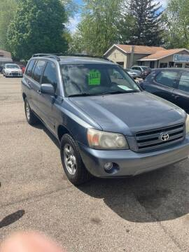 2005 Toyota Highlander for sale at Auto Consider Inc. in Grand Rapids MI
