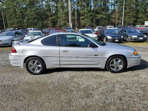 2002 Pontiac Grand Am for sale at WILSON MOTORS in Spanaway WA