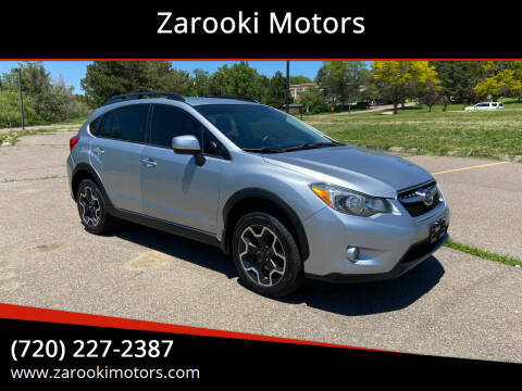 2014 Subaru XV Crosstrek for sale at Zarooki Motors in Englewood CO