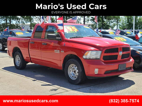 2013 RAM Ram Pickup 1500 for sale at Mario's Used Cars in Houston TX