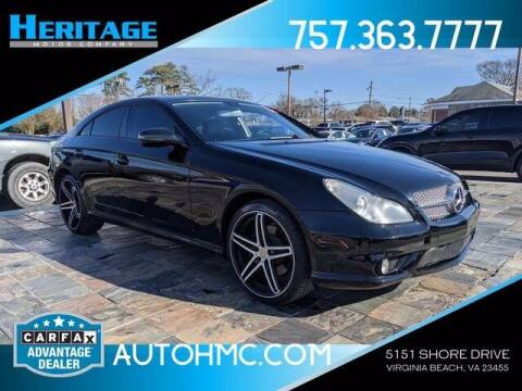 2010 Mercedes-Benz CLS for sale at Heritage Motor Company in Virginia Beach VA