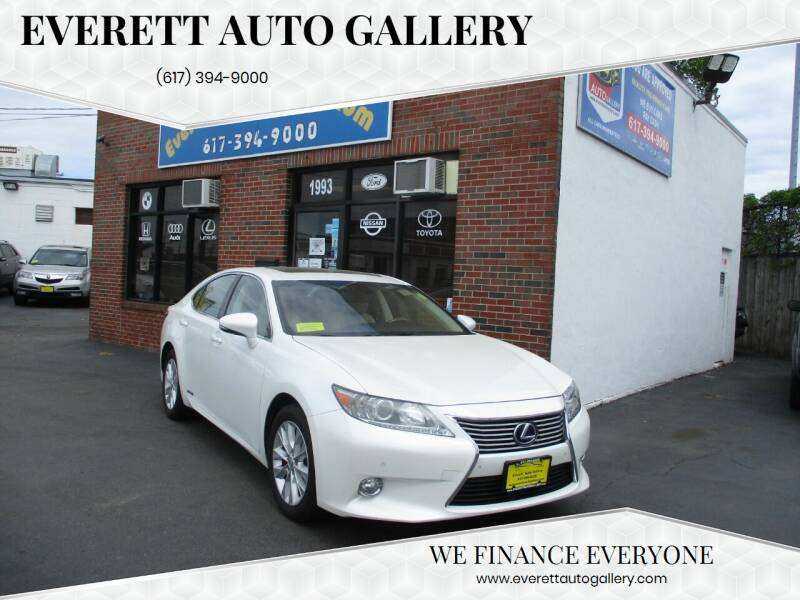 2013 Lexus ES 300h for sale at Everett Auto Gallery in Everett MA