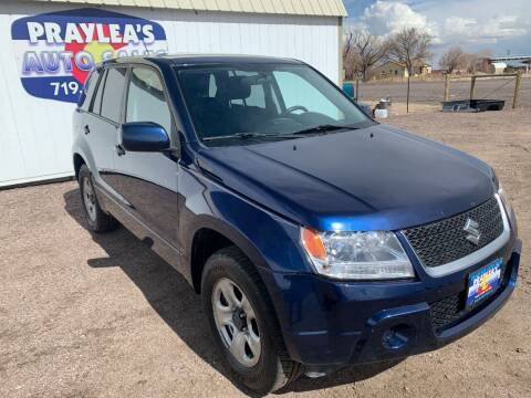 2012 Suzuki Grand Vitara for sale at Praylea's Auto Sales in Peyton CO