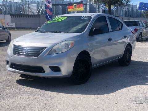2012 Nissan Versa for sale at Pro Cars Of Sarasota Inc in Sarasota FL