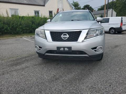 2013 Nissan Pathfinder for sale at RMB Auto Sales Corp in Copiague NY