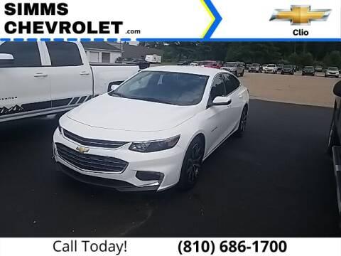 2018 Chevrolet Malibu for sale at Aaron Adams @ Simms Chevrolet in Clio MI
