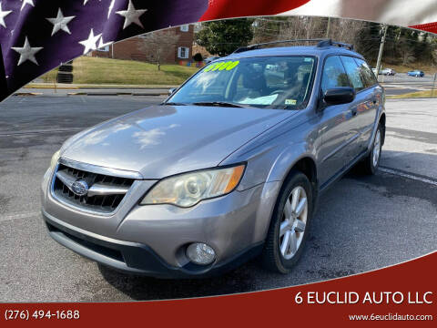 2008 Subaru Outback for sale at 6 Euclid Auto LLC in Bristol VA