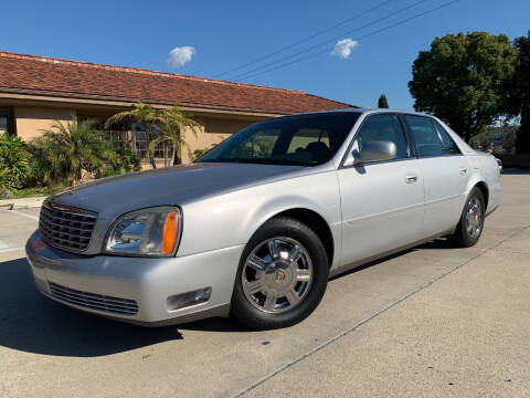 2003 Cadillac DeVille for sale at Auto Hub, Inc. in Anaheim CA
