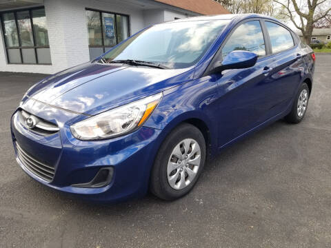 2017 Hyundai Accent for sale at Cedar Auto Group LLC in Akron OH