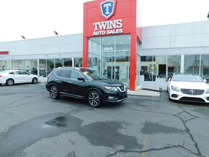 2020 Nissan Rogue for sale at Twins Auto Sales Inc Redford 1 in Redford MI