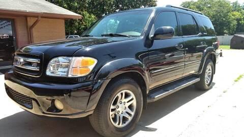 2004 Toyota Sequoia for sale at John 3:16 Motors in San Antonio TX