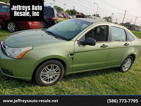 2008 Ford Focus for sale at Jeffreys Auto Resale, Inc in Clinton Township MI