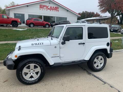 2011 Jeep Wrangler for sale at Efkamp Auto Sales LLC in Des Moines IA