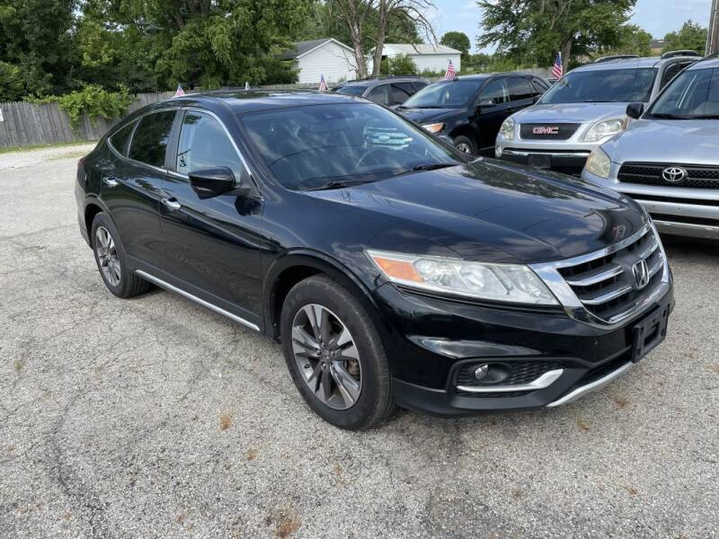 2014 Honda Crosstour for sale at Stiener Automotive Group in Galloway OH