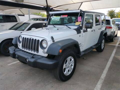 2014 Jeep Wrangler Unlimited for sale at Excellence Auto Direct in Euless TX