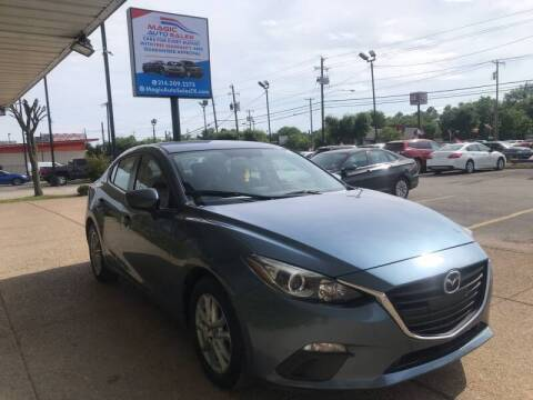 2016 Mazda MAZDA3 for sale at Magic Auto Sales in Dallas TX