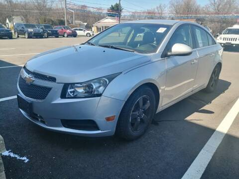 2013 Chevrolet Cruze for sale at KRIS RADIO QUALITY KARS INC in Mansfield OH