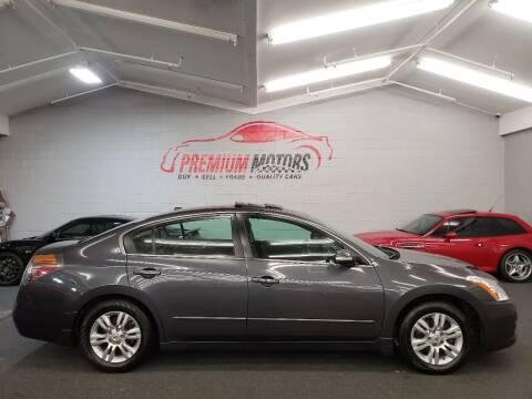 2010 Nissan Altima for sale at Premium Motors in Villa Park IL