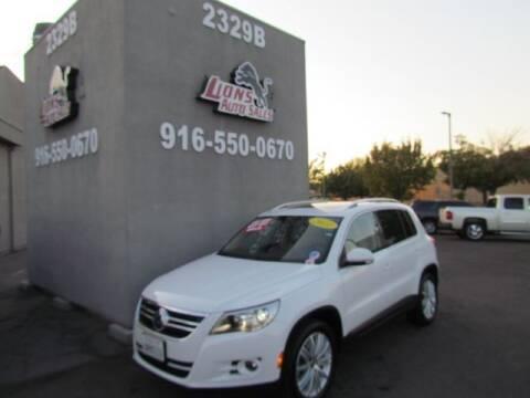 2011 Volkswagen Tiguan for sale at LIONS AUTO SALES in Sacramento CA