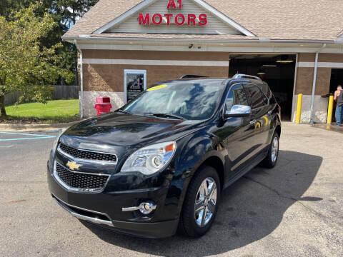 2015 Chevrolet Equinox for sale at A 1 Motors in Monroe MI