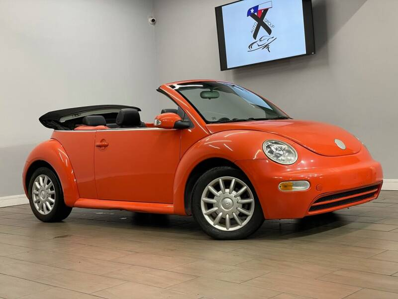 2005 Volkswagen New Beetle Convertible Dark Flint Edition