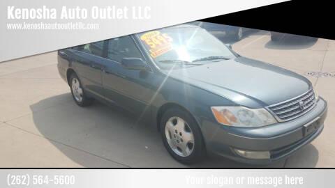 2004 Toyota Avalon for sale at Kenosha Auto Outlet LLC in Kenosha WI