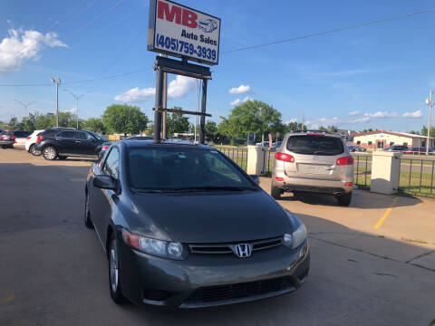 2006 Honda Civic for sale at MB Auto Sales in Oklahoma City OK